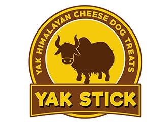 Yak Stick logo design