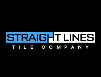 Straight Lines Tile Company logo design winner