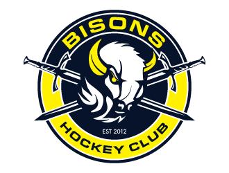 Bisons Hockey Club logo design by PRN123