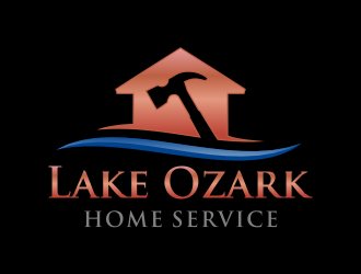 Lake Ozark Home Service logo design