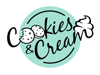 Cookies and Cream logo design