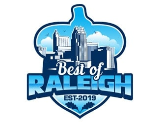Best of Raleigh logo design