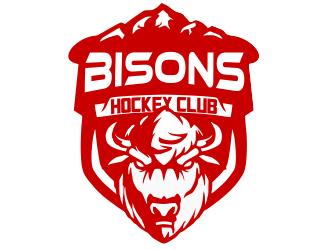 Bisons Hockey Club logo design by JessicaLopes