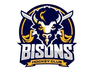 Bisons Hockey Club logo design by daywalker