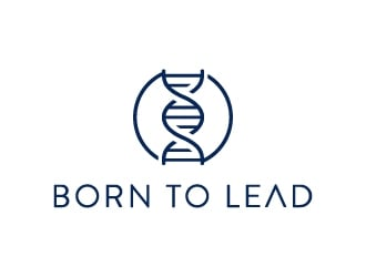 Born To Lead logo design