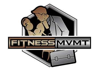 FitnessMvmt  Personal Training Services logo design