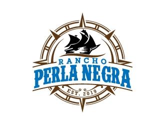 Rancho Perla Negra logo design