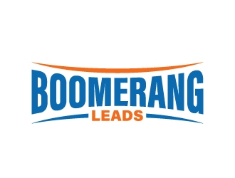 Boomerang Leads   Not Your Typical Leads logo design