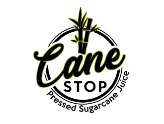 Cane Stop logo design