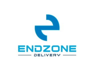End Zone Delivery (focus in EZ) logo design