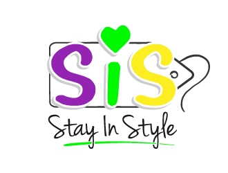 S.I.S. Stay In Style  logo design