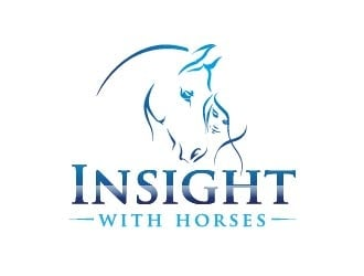 Insight with horses Logo Design