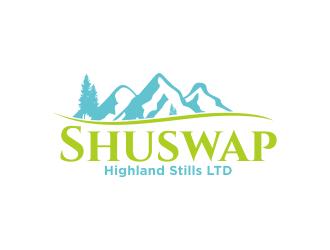 Shuswap Highland Stills LTD logo design by Greenlight