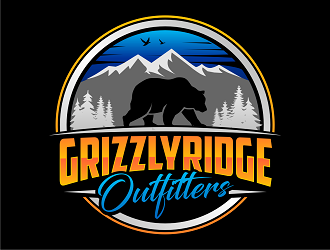 Grizzly Ridge Outfitters logo design