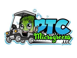 PTC Microgreens, LLC logo design