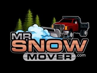 Mr Snow Mover logo design