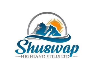 Shuswap Highland Stills LTD logo design