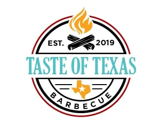 Taste of Texas Barbecue logo design