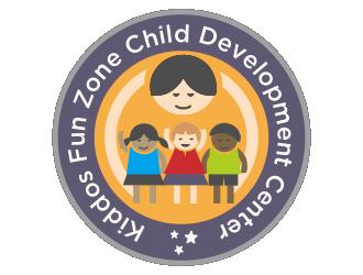 Kiddos Fun Zone Child Development Center logo design