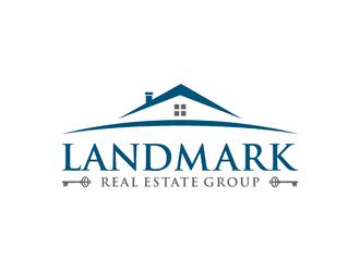 Landmark Real Estate Group logo design