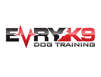 Evry K9 Dog Training logo design