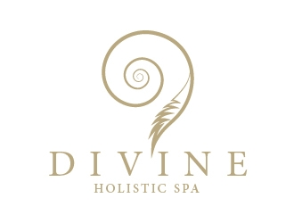 DIVINE HOLISTIC SPA  logo design