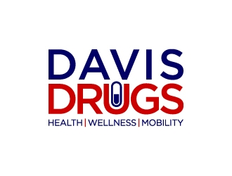 Davis Drugs logo design