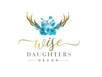 Wise Daughters Decor logo design by Rachel