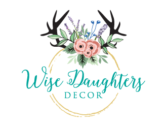 Wise Daughters Decor logo design by boybud40