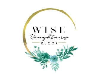 Wise Daughters Decor logo design