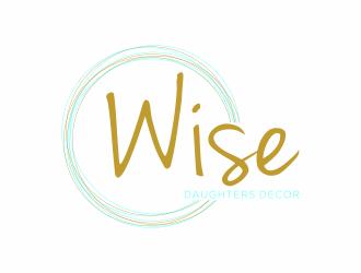 Wise Daughters Decor logo design by luckyprasetyo
