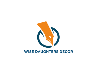 Wise Daughters Decor logo design by Greenlight