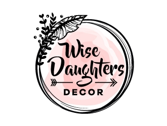 Wise Daughters Decor logo design by LogOExperT