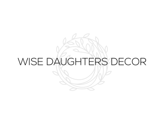 Wise Daughters Decor logo design by N3V4