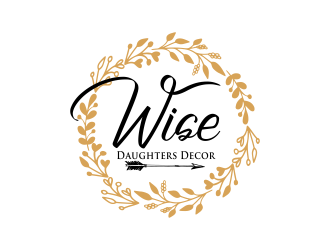 Wise Daughters Decor logo design by done