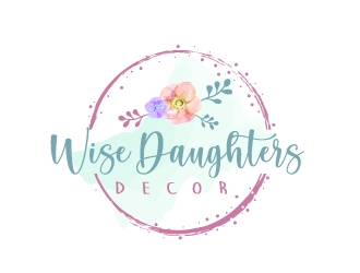Wise Daughters Decor logo design by jaize