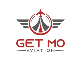 Get Mo Aviation logo design