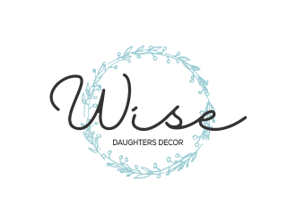 Wise Daughters Decor logo design by kopipanas