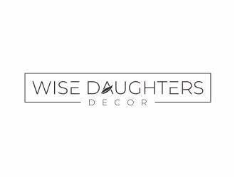 Wise Daughters Decor logo design by mutafailan