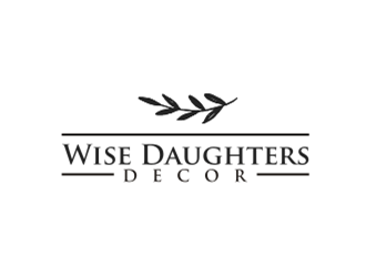 Wise Daughters Decor logo design by sheila valencia