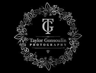 Taylor Gonsoulin Photography logo design