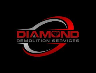 Diamond Demolition Services logo design