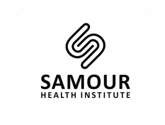 SAMOUR Health Institute logo design