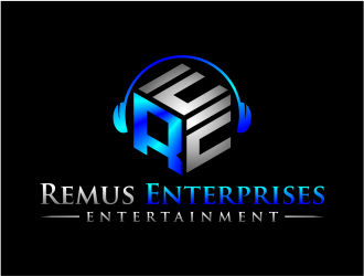 Remus Enterprises Entertainment logo design