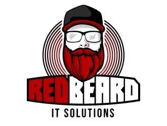 RedBeard IT Solutions logo design