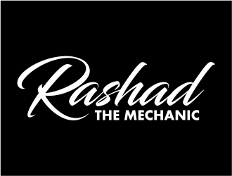 Rashad the mechanic logo design