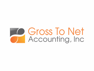 Gross To Net Accounting, Inc Logo Design