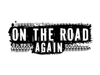 On the road again logo design