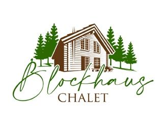 blockhaus-chalet logo design