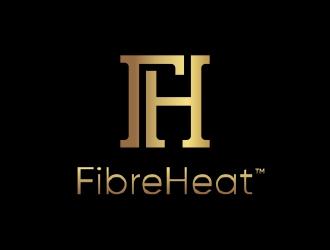 FibreHeat logo design